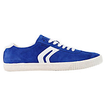 Buy Geox Suede Smart Trainers Online at johnlewis.com