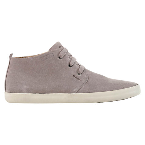 Buy Geox Smart Suede Mid Trainers Online at johnlewis.com