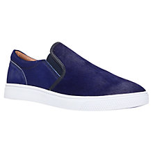 Buy KG by Kurt Geiger Grayson Suede Slip On Trainers Online at johnlewis.com