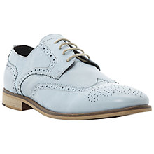 Buy Bertie Aston Pastel Leather Brogues, Blue Online at johnlewis.com