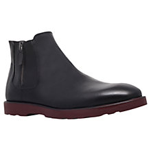 Buy KG by Kurt Geiger Herman Leather Chelsea Boots, Black Online at johnlewis.com