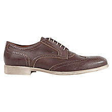Buy Geox Journey Wingtip Brogues, Brown Online at johnlewis.com