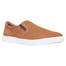 Buy KG by Kurt Geiger Grayson Suede Slip-On Trainers Online at johnlewis.com