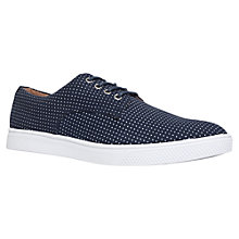 Buy KG by Kurt Geiger Cassius Derby Shoes, Navy Online at johnlewis.com