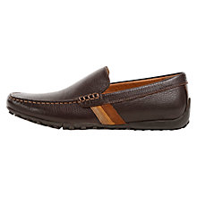 Buy Geox Leather Snake Moccasins Online at johnlewis.com