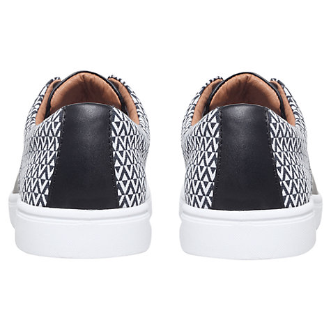Buy KG by Kurt Geiger Cassius Derby Shoes, Black/White Online at johnlewis.com