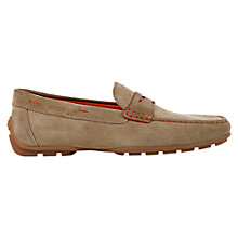Buy Geox Monet Penny Loafers, Antelope Online at johnlewis.com