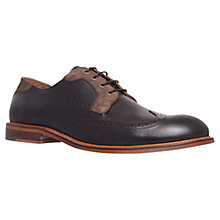 Buy KG by Kurt Geiger Brandon Contrast Brogues Online at johnlewis.com
