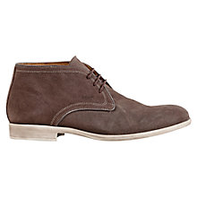 Buy Geox Journey Chukka Boots, Ebony Online at johnlewis.com