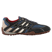 Buy Geox Snake Trainers, Avio/Off White Online at johnlewis.com