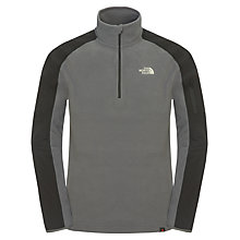 Buy The North Face Men's Glacier Delta 1/4 Zip Pullover Fleece Online at johnlewis.com