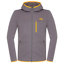 Buy The North Face Men's Lixus Full Zip Hoodie Jacket, Vandis Grey Online at johnlewis.com