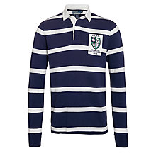 Buy Polo Ralph Lauren Wimbledon Rugby Jersey, Navy/White Online at johnlewis.com