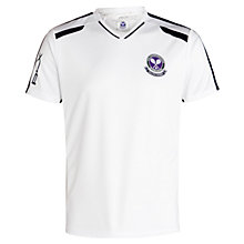 Buy Polo Ralph Lauren Wimbledon RLX V-Neck T-Shirt, Pure White Online at johnlewis.com