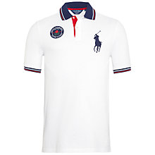 Buy Polo Golf by Ralph Lauren Open 2014 Polo Shirt, White Online at johnlewis.com