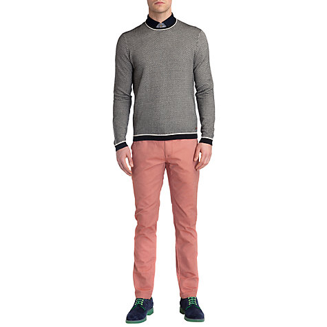 Buy Ted Baker Seeyar Zigzag Knit Jumper Online at johnlewis.com