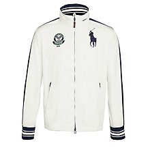 Buy Polo Ralph Lauren Wimbledon Windbreaker, White Online at johnlewis.com