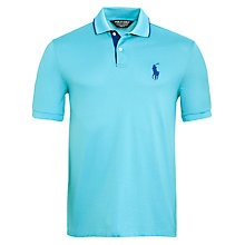 Buy Polo Golf by Ralph Lauren Contrast Under Collar Polo Shirt Online at johnlewis.com