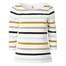 Buy White Stuff Mercia Striped T-Shirt, White Multi Online at johnlewis.com