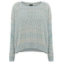 Buy Warehouse Slub Block Jumper, Blue Online at johnlewis.com