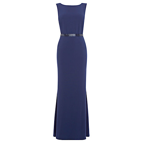 Buy Coast Felix Maxi Dress, Navy Online at johnlewis.com