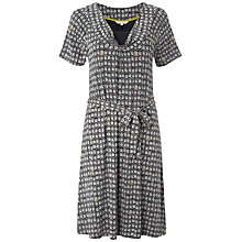 Buy White Stuff Becky Telephone Printed Dress, Dark Ink Online at johnlewis.com