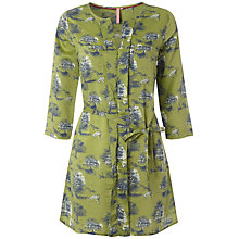 Buy White Stuff Willow Forest Print Tunic, Avocado Online at johnlewis.com