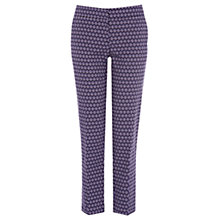 Buy Warehouse Geo Print Trousers, Multi Online at johnlewis.com