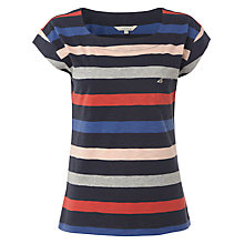Buy White Stuff Ocean Wave Striped T-Shirt, Navy Multi Online at johnlewis.com