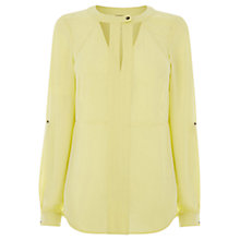 Buy Warehouse Cutout Neck Blouse Online at johnlewis.com