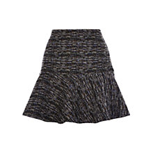 Buy Warehouse Tweed Flippy Skirt, Multi Online at johnlewis.com