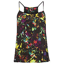 Buy Warehouse Tropical Fluro Print Cami, Multi Online at johnlewis.com