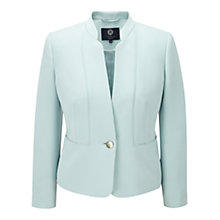 Buy Viyella Petite Cropped Pastel Jacket, Eau De Nil Online at johnlewis.com