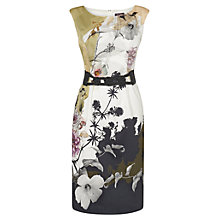 Buy Phase Eight Milano Rebecca Bloom Dress, Multi Print Online at johnlewis.com