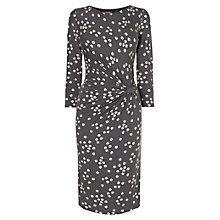 Buy Phase Eight Fig Leaf Dress, Grey Online at johnlewis.com