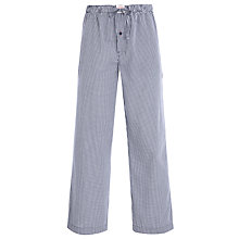 Buy Tommy Hilfiger Holmes Gingham Lounge Pants, Navy Online at johnlewis.com