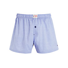 Buy Tommy Hilfiger Herald Woven Boxer Shorts, Wedgewood Online at johnlewis.com