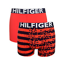 Buy Tommy Hilfiger High Risk Trunks, Pack of 2 Online at johnlewis.com