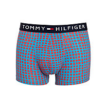 Buy Tommy Hilfiger Gabriel Trunks, Red/Blue Online at johnlewis.com