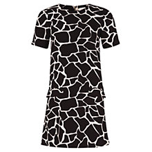 Buy Louche Daniele Giraffe Dress, Black Online at johnlewis.com