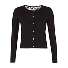 Buy Louche Dior Knit Cardigan, Black Online at johnlewis.com