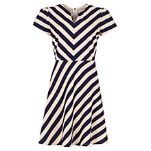Buy Louche Dornay Dress, Navy/Cream Online at johnlewis.com