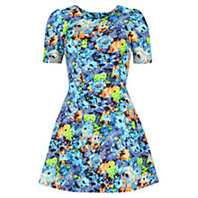 Buy Louche Lulu Dress, Turquoise Online at johnlewis.com