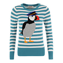 Buy Louche Knitted Peter Jumper, Teal Online at johnlewis.com