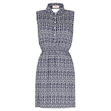 Buy Louche Bellamy Dress, Blue Online at johnlewis.com