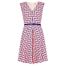 Buy Louche Pixel Duchess Dress, Multi Online at johnlewis.com