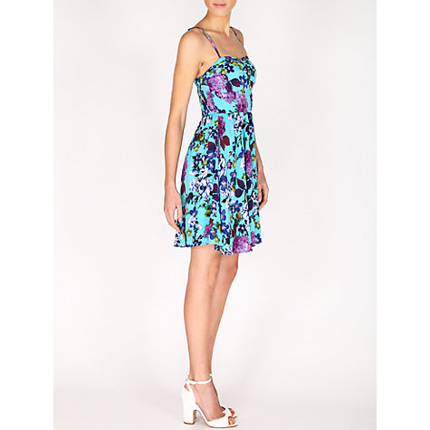 Buy Louche Ditta Summer Dress, Blue Online at johnlewis.com