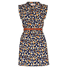Buy Louche Zina Rose Dress, Navy Online at johnlewis.com