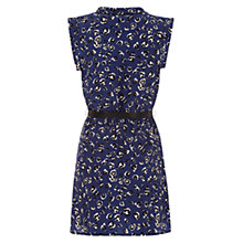 Buy Louche Animal Print Zara Dress, Navy Online at johnlewis.com