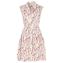 Buy Louche Rajaa Dress, White Online at johnlewis.com
